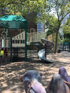リンカーンセンターから近い公園|Matthew P. Sapolin Playground