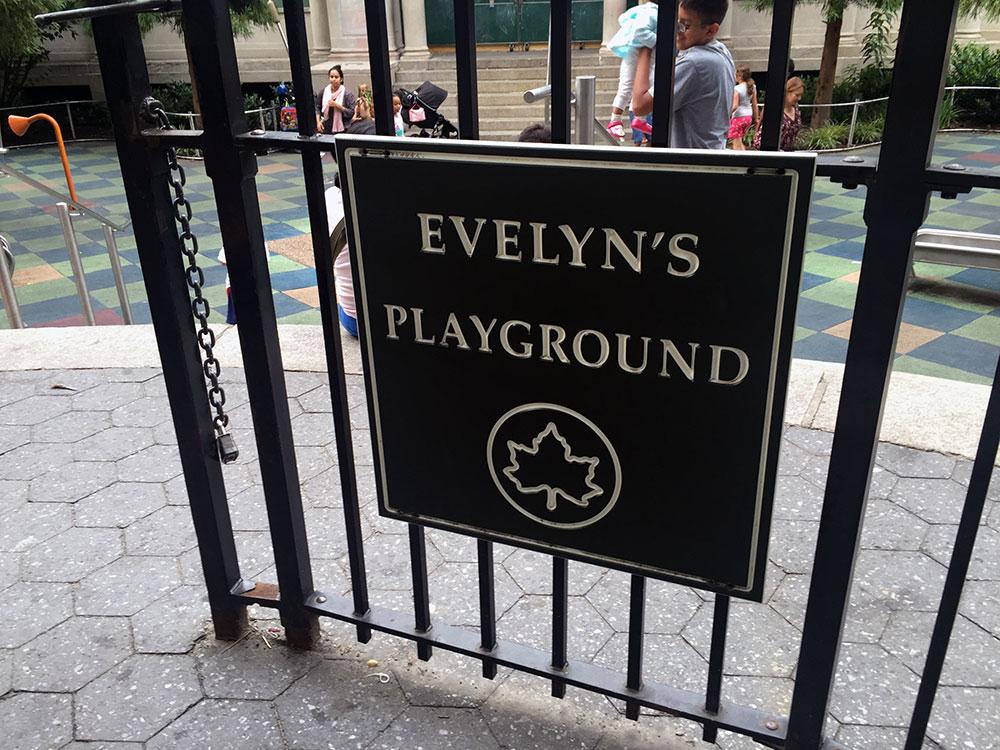 エブリンズ・プレイグラウンドのゲート