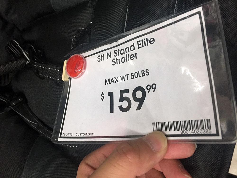 値段的には$159.99と安いのですが。