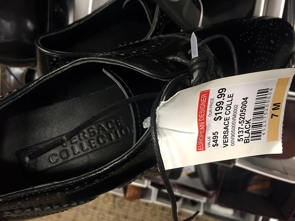 ベルサーチ・コレクション 革靴 $199.99