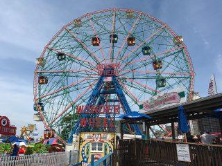 マンハッタンから1時間の遊園地 Coney IslandのLuna Parkに行ってみた!