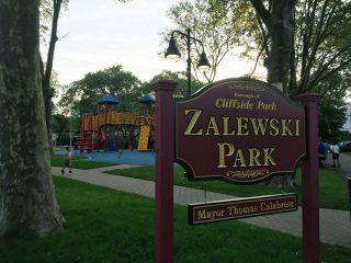 ニュージャージーの小さなおしゃれな公園 Zalewski Park